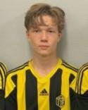 Albin Bång gjorde två av Kuben 2:s mål mot Fränsta.