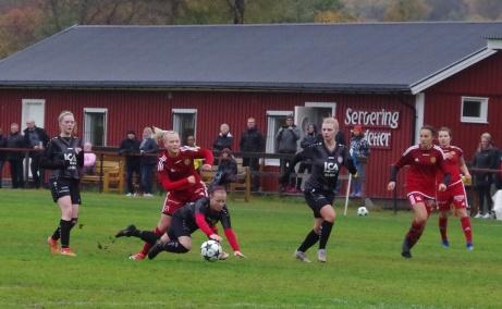 """Vi var på många matcher under """"Coronaåret"""" 2020. En av dem var när Alnö vann sin avslutande match hemma mot Söråker och tog klivet upp i division 1. Foto: Pia Skogman, Lokalfotbollen.nu"""