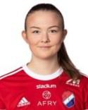 Clara Ekstrand ska konkurrera med Bella Nordlund om de ordinarie målvakts-handskarna.