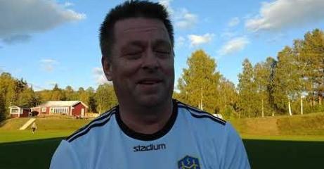 Då Thomas Åslin hoppade in i Holms avslutningsmatch gjorde han sin 43:e raka A-lagssäsong. vilket måste vara ganska unikt i svensk fotboll. Foto: Pia Skogman, Lokalfotbollen.nu.