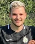 Hari Halilovic slapp vakta målet och i ren lycka gjorde han hattrick mot Holm,