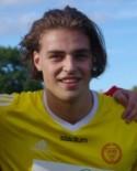 Robin Nymo satte mål #15, 16 och 17 för säsongen.