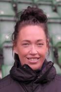 Det blev ingen rolig hemmapremiär för Kovlands tränare Emma Westlund.