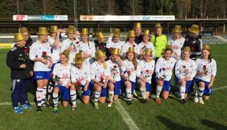 Ope IF tog hem damernas div 2 Mellersta Norrland 2016. Foto: Ope IF:s hemsida.