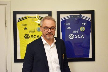 GIF Sundsvalls nye klubbchef Tomas Litström. Foto: GIF Sundsvalls hemsida.