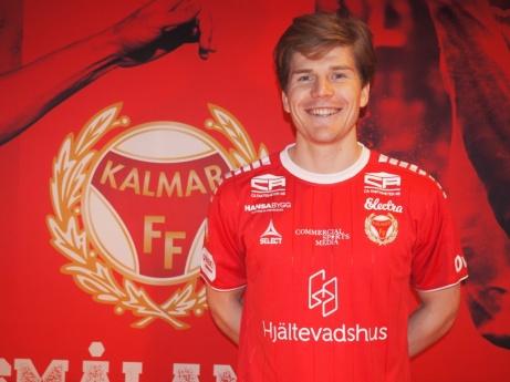 """Oliver Berg numera """"smålänning"""" . Foto: Kalmar FF:s hemsida."""