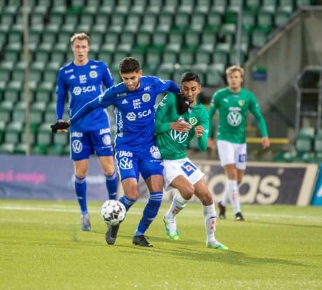 Missa inte klubbens intervju med sin Essviksfostrade mittfältare. Foto: GIF Sundsvalls hemsida.