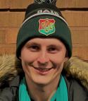 Johan Andersson ned GAIS-mössa.