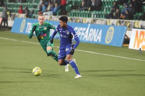 GIF Sundsvall har ännu inte fått alla pengar för Jonathan Morsays övergång till Chievo. Foto; Anders Thorsell, Sundsvallsbilder.com.