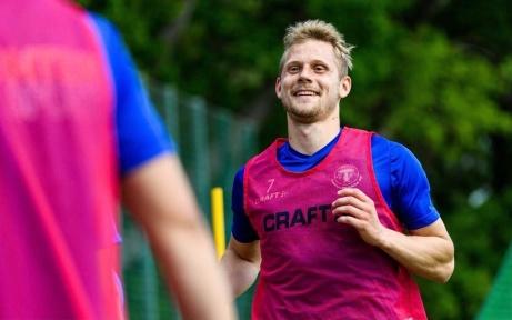 Erik Andersson från Trelleborgs FF ersätter Johan Blomberg som gått till samma klubb. Foto: GIF Sundsvalls hemsida,