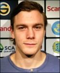 Förre GIF-spelaren Leo Englund gjorde Gefles första mål.
