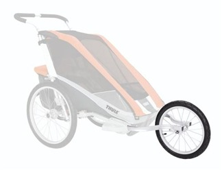 Cykelvagn Thule Chariot 2 - Joggingkit