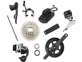 SRAM Groupset Red eTAP BB30, 11 speed - SRAM Groupset Red eTAP BB30, 11 speed