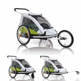 XLC Duo vagn lime, Superdeal!