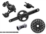 SRAM Groupset X1 GXP, 11 speed, Fatbike