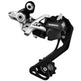 Shimano XT M786 Shadow+ 10-vxl, silver, long cage