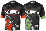 XLC Freeride tröja grön kortärm