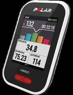 POLAR V650 CYKELDATOR MED GPS (med och utan pulssensor) - Utan pulssensor