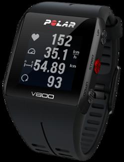 POLAR V800 SPORTKLOCKA MED GPS - Svart