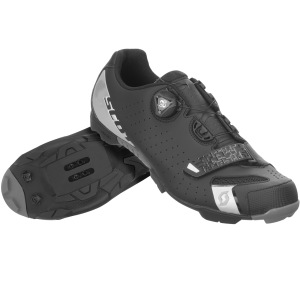 SCOTT MTB COMP BOA SHOE - BLACK/SILVER