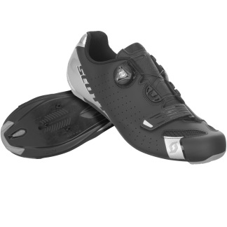 SCOTT ROAD COMP BOA SHOE - BLACK/SILVER
