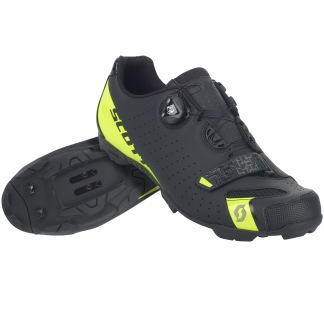 SCOTT MTB COMP BOA SHOE - BLACK/YELLOW