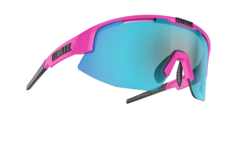 BLIZ - MATRIX PINK - Smoke w blue multi LENS