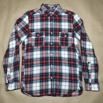 SECOND HAND Rutig skjorta Bomull stl S
