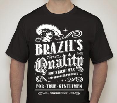 Brazil's T-shirt SVART