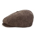 BRIXTON Lil Brood Snap Cap Brown