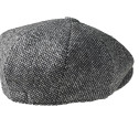 PEAKY BLINDERS Birds Eye Black Tweed Newsboy Cap