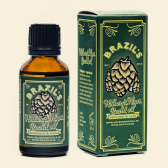 BRAZIL'S Helbergs Hops Beard Oil, Bergamot & Hops. 30ml