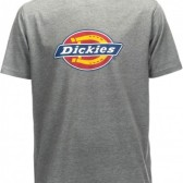 DICKIES Horseshoe Tee Gray Melange