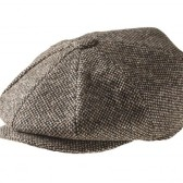 PEAKY BLINDERS Brown Tweed Newsboy Cap