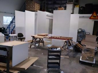 Montering av IKEA skåp mm