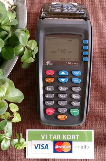 kortbetalning, VISA, Mastercard, ljusverkstan, OnSlip,