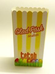 Popcorninspirerad låda