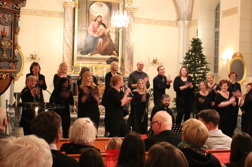 ChristmasJoy - Julkonsert 10 dec 2014 i Ervalla kyrka
