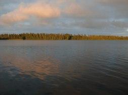 Ännu en fin dag på sjön.