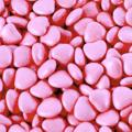 Chokladhjärta - Cerise/Rosa