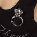 Brosch - Diamantring