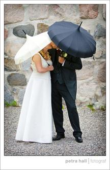 Paraply Svart