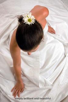 Blomsterhållare för håret
