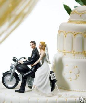 Cake top - Motorcykel