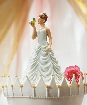 Cake top - Kysser grodan