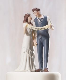 Cake top - Vintage paret