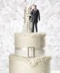 Cake top - Vinterbröllop
