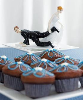 Cake top - Släpande brud