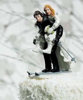 Cake top - Kärlek på glid