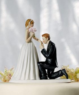 Cake top - Vill du gifta dig med mig?